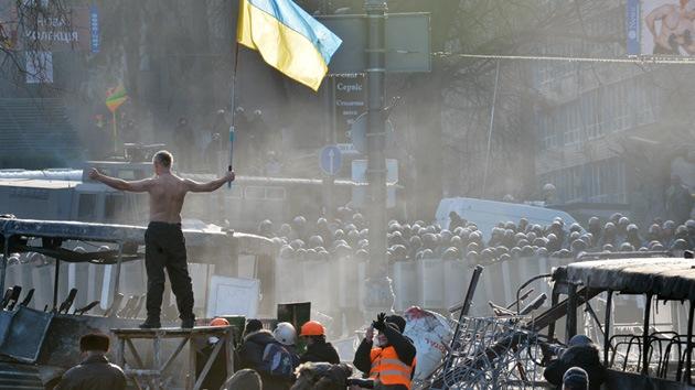 """Rusia: """"Están desestabilizando la situación en Ucrania desde el extranjero"""""""
