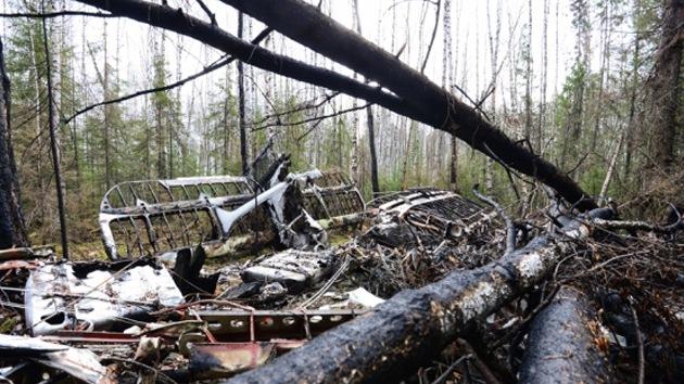 Video, fotos: Encuentran, un año después, el avión 'fantasma' de los Urales