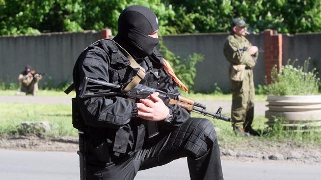 Los ciudadanos de Slaviansk, rehenes en manos del Ejército ucraniano