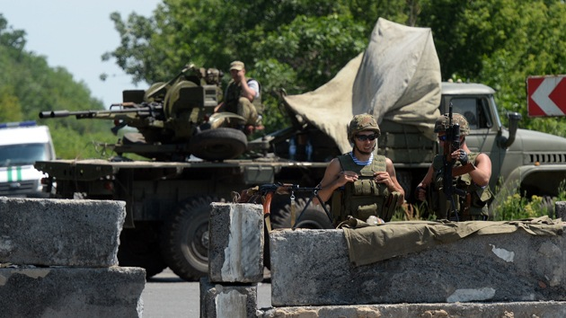 Kiev admite oficialmente la participación de extranjeros en el operativo 'antiterrorista'