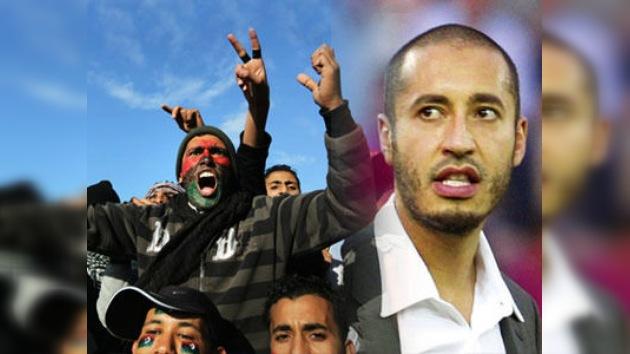Saadi Gaddafi: A Libia le espera una insurrección inminente