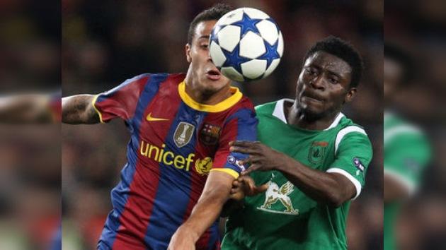 Rubín se despide de la Champions pero jugará la Liga de Europa