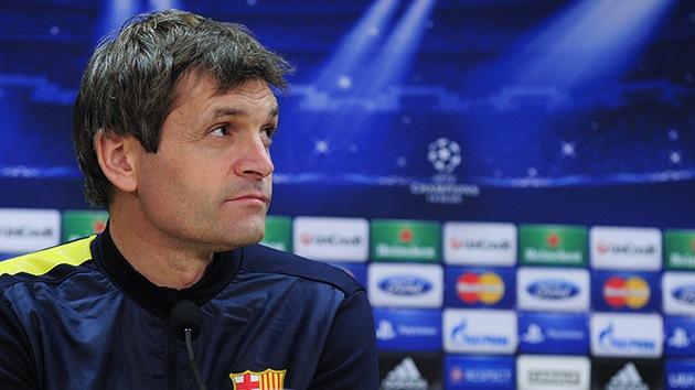 El entrenador del Barcelona, Tito Vilanova, recae del cáncer que padecía