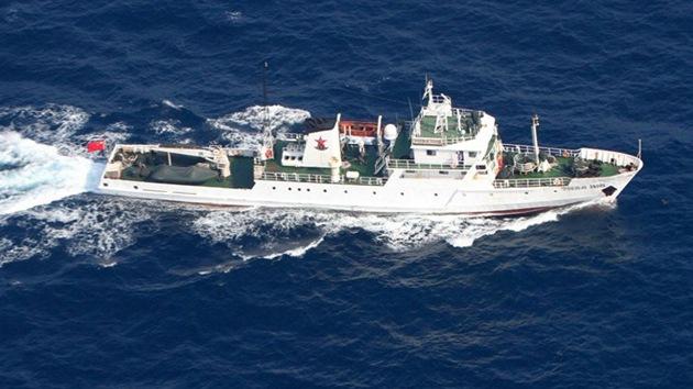 11 patrulleros chinos se dirigen a las islas en disputa con Japón
