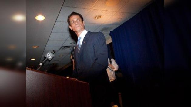 El congresista Weiner se someterá a tratamiento de la adicción al sexo
