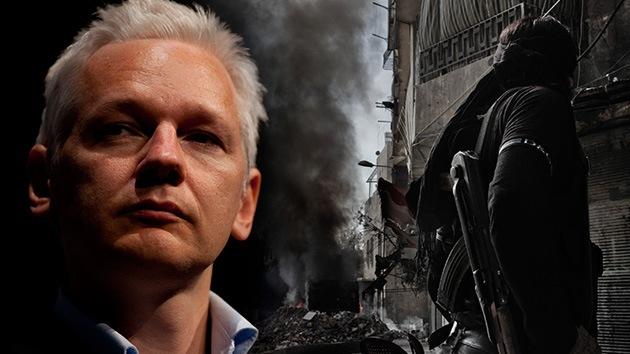 Julian Assange: El horror en Siria demuestra lo que pasa si la información se esconde