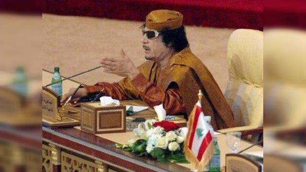 Gaddafi no dirigía a las tropas leales en su lucha contra los rebeldes libios