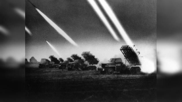 Sistemas lanzacohetes soviéticos en la guerra de 1941–1945