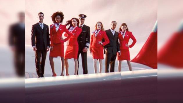 Los tripulantes de Virgin Atlantic, los más atractivos del Reino Unido