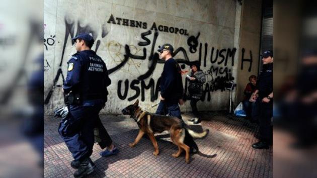 La Policía griega se pone en alquiler para recaudar fondos
