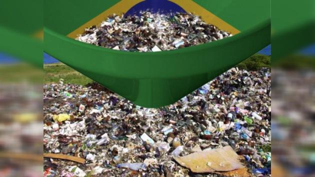 La basura, un nuevo problema para Brasil