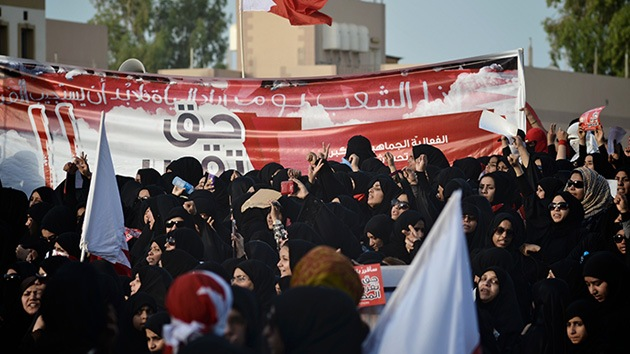 Manifestaciones antigubernamentales en Bahréin