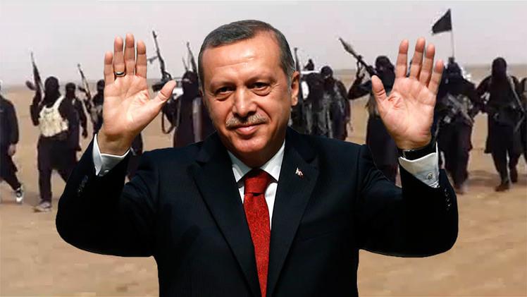 Erdogan destruye las pruebas de su apoyo al Estado Islámico por miedo a ser juzgado