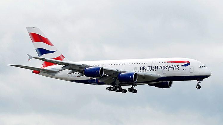 Casi supersónico: una corriente en chorro transporta a un avión de Nueva York a Londres en 5 horas