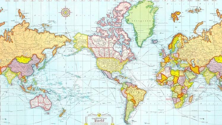 Facebook Marcador De Posición Para Ubicar Lugares En: Mapas: ¿Cómo Representan El Mundo Diferentes Países?