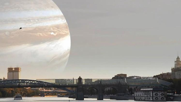 Si otros planetas reemplazaran la Luna: Imágenes impresionantes de la agencia espacial rusa (Video)