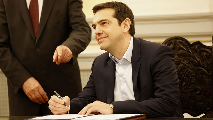 """""""Tras 5 años de sufrimiento y humillación"""": Syriza gana las elecciones en Grecia"""
