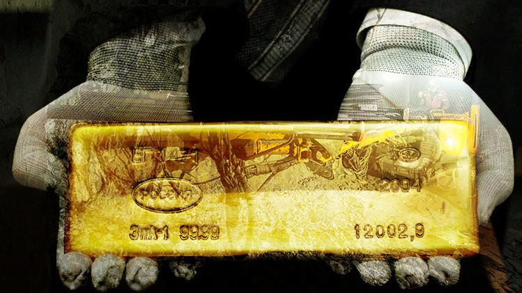 Rusia pasa a ser el segundo país del mundo en producción de oro