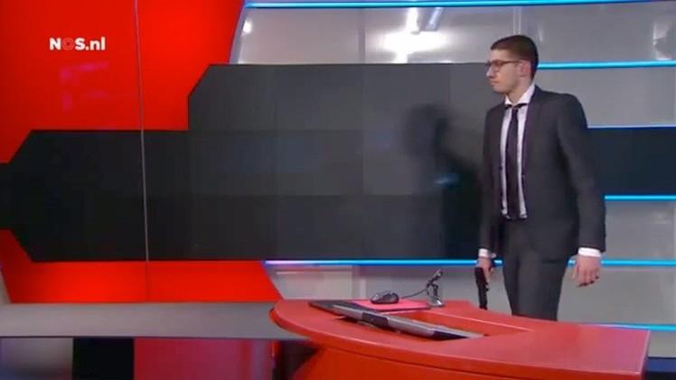 PRIMERAS IMÁGENES: Video del arresto del hombre armado que entró en un canal neerlandés