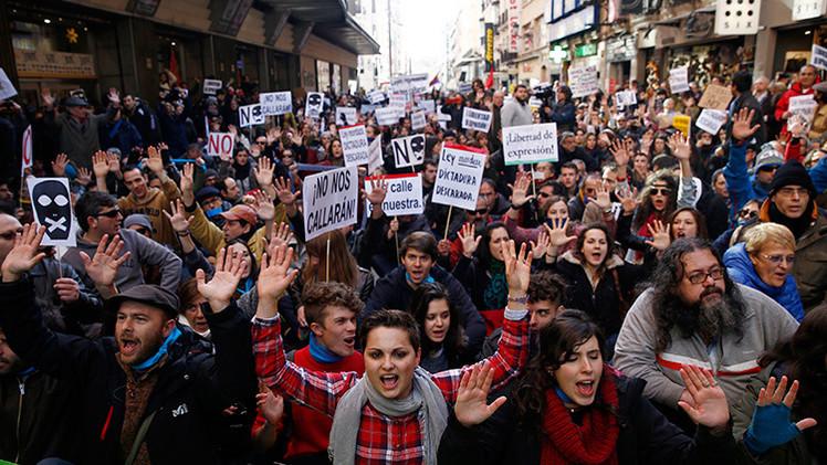España:  La masiva protesta rechazará el nuevo decreto universitario '3+2'