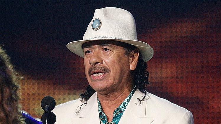 """Santana elogia """"la riqueza"""" de México pero condena la """"corrupción increíble"""""""