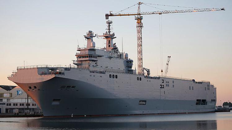Rusia podría imponer sanciones contra Francia por no entregar los Mistral