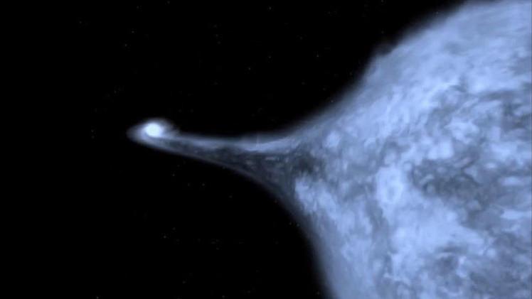 Estrella rompe récord de velocidad al ser expulsada de la Vía Láctea por una explosión termonuclear