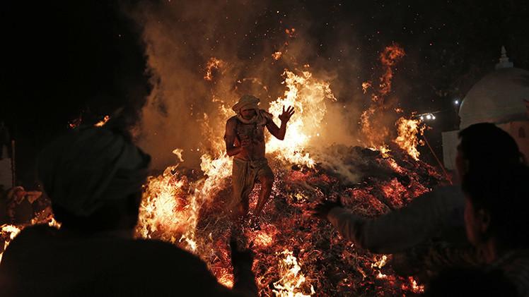 Un 'fuego subterráneo infernal' quema una ciudad de la India desde hace 100 años