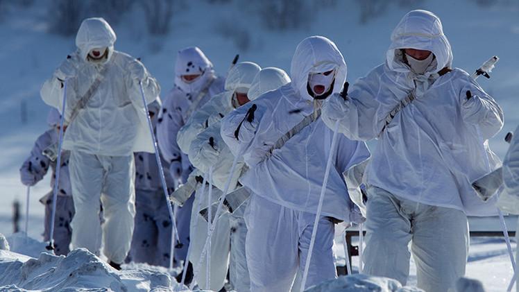 Video: Unidades especiales de la Flota del Norte rusa exhiben su potencial bélico