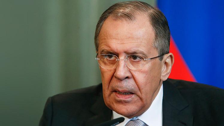 """Lavrov: """"Rusia apoya el levantamiento del embargo económico contra Cuba"""""""