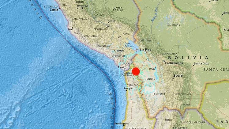 Un sismo de magnitud 6,4 sacude Chile