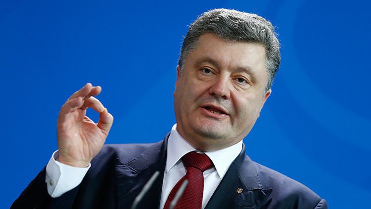 Poroshenko: Ucrania está dispuesta a celebrar un referéndum sobre su sistema de gobierno