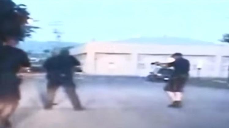 Fuertes imágenes: Nuevo video del asesinato a tiros por policías de una enferma mental