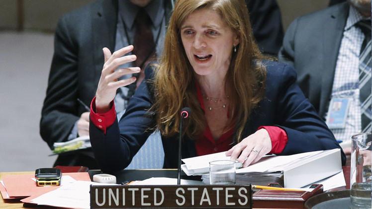 La embajadora de EE.UU. pide a la guardia silenciar al delegado de Corea del Norte en la ONU
