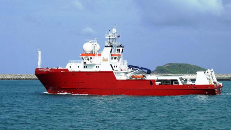 Foto: Hallan en el Índico fragmentos de un barco desconocido durante la búsqueda del MH370