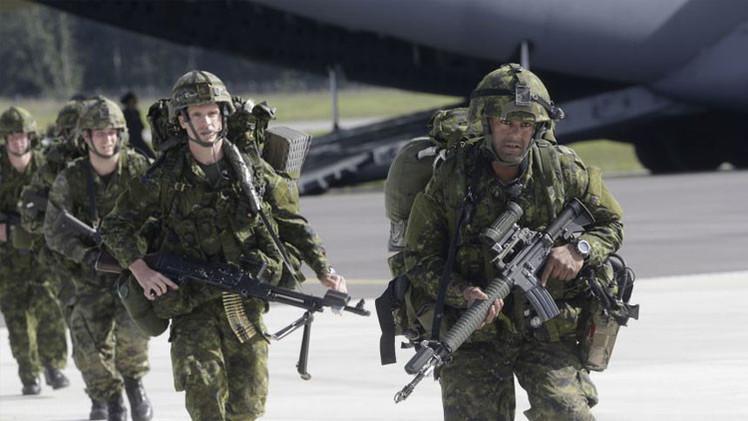 'The Times': Los Estados bálticos deciden instalar miles de tropas de la OTAN