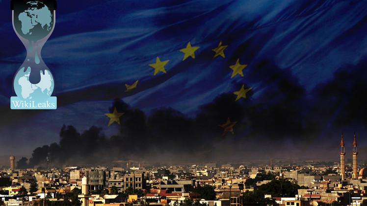 Nueva filtración de WikiLeaks: Europa prepara una intervención en Libia