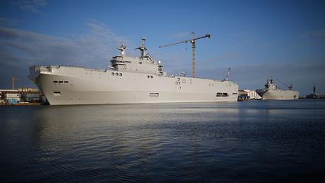 Qué gana Rusia al rehusar la entrega hipotética de los buques Mistral