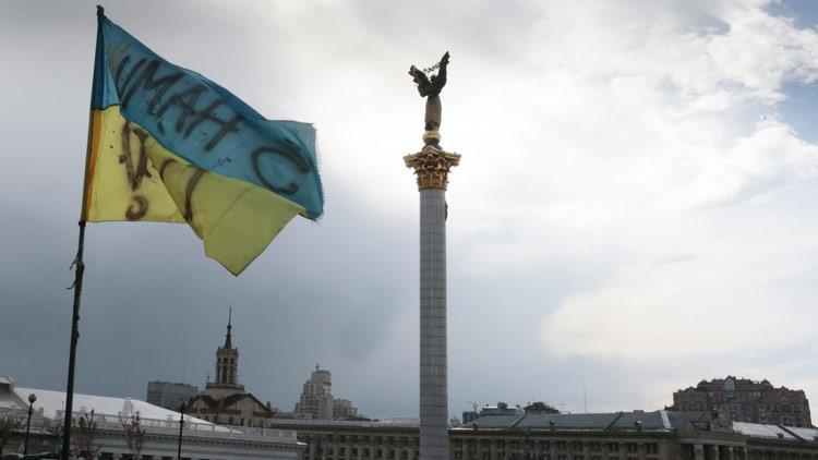 Kiev: Activistas declaran huelga de hambre en Maidán y exigen la llegada del presidente