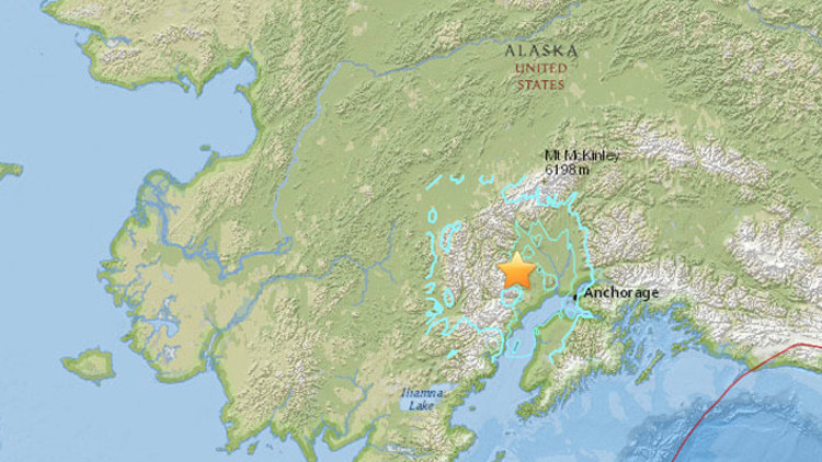 Un terremoto de magnitud 5,8 sacude Alaska
