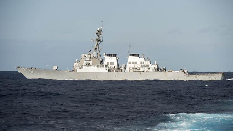Un destructor de la Armada de EE.UU. llega al mar Negro