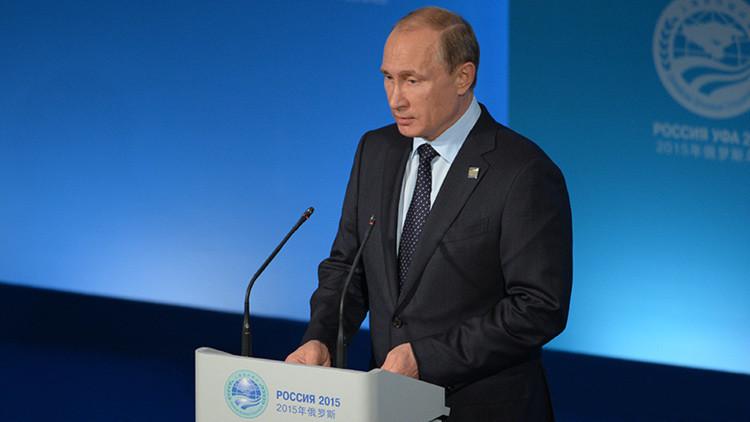"""Putin: """"China es y será la locomotora de la economía mundial"""""""