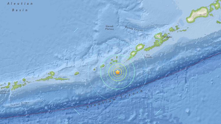 EE.UU.: Un sismo de magnitud 6,9 se registra en Alaska