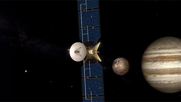 Europa pone rumbo a las lunas de Júpiter