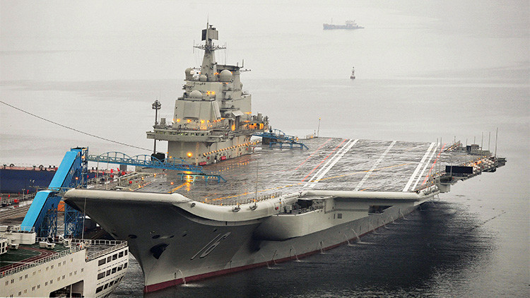 Una filtración revela que China construye nuevos portaaviones nucleares