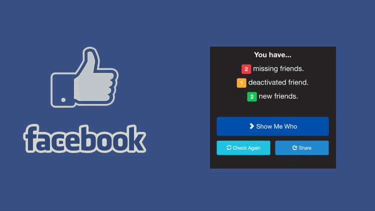 Facebook obliga a retirar la aplicación que revela quién te elimina de su lista de amigos