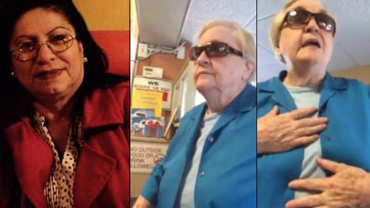 EE.UU.: Una anciana muestra su racismo a una latina por no hablar inglés (video)