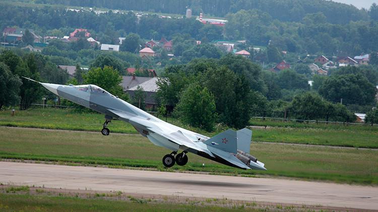 Rusia dotará a su nuevo caza furtivo T-50 de una docena de nuevos misiles guiados