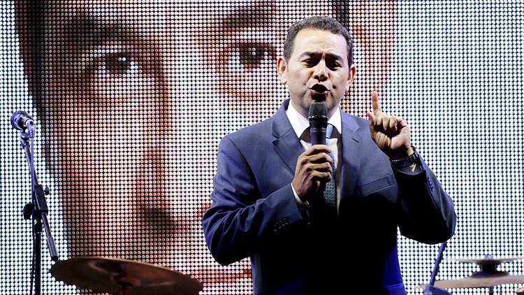 De comediante a candidato a presidente de Guatemala: ¿Quién es Jimmy Morales?