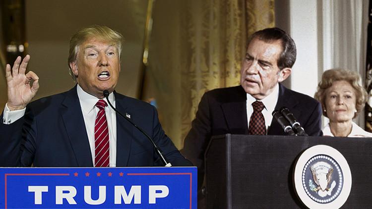 La insólita carta del expresidente Nixon a Donald Trump